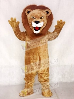 Animal Male Lion Mascot Costume