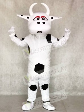 Big Black Dot Cow Mascot Costumes Anima
