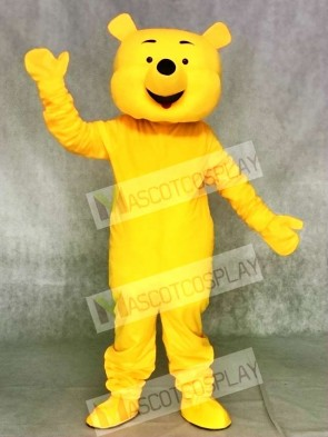 Winnie the Pooh Bear Mascot Costumes Cartoon