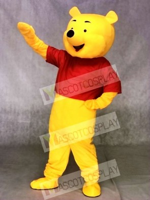 Cute High Quality Winnie the Pooh Bear Mascot Costume