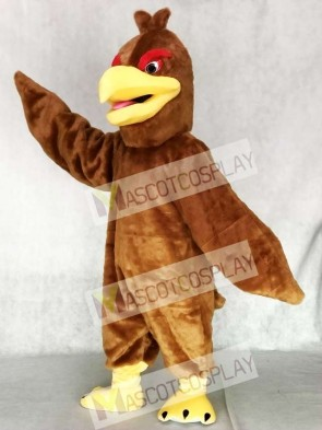 Light Brown Feather Hawk Falcon Eagle Mascot Costume Animal