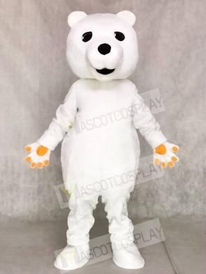 Tan Shirt Eisbär Maskottchen Kostüm Tier