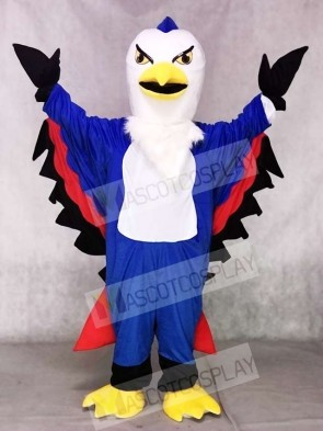Blue and Red Thunderbird Mascot Costumes Animal