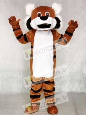 Cute Toby Tiger Mascot Costume