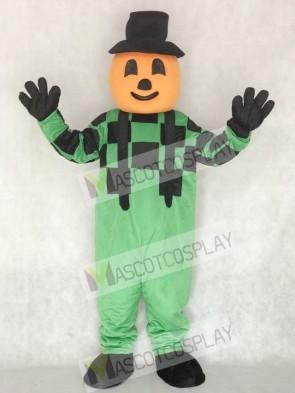 Blinkey Pumpkin Halloween Mascot Costume