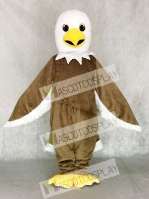 Light Brown Eagle Mascot Costume