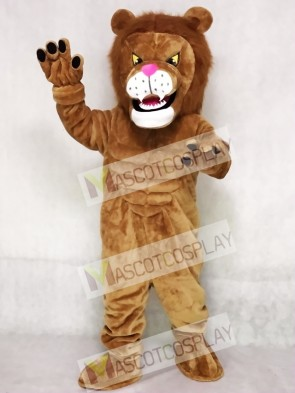 High Quality Power Cat Lion Mascot Costume