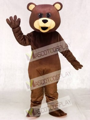 Brown Teddy Bear Toy Mascot Costumes Animal