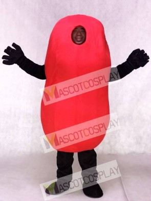 Custom Color Red Kidney Bean Mascot Costumes