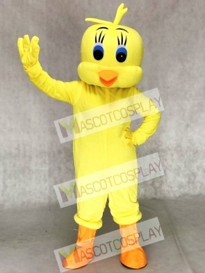 Tweety Looney Tunes Yellow Bird Mascot Costumes Cartoon