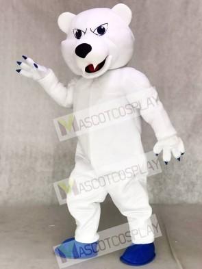 Power Polar Bear Mascot Costumes Animal