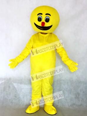 Yellow Boogie Man Mascot Costume
