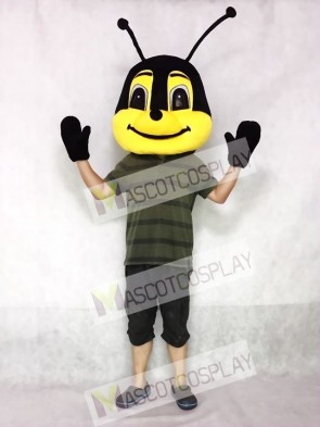 Friendly Bee Mascot Head Only