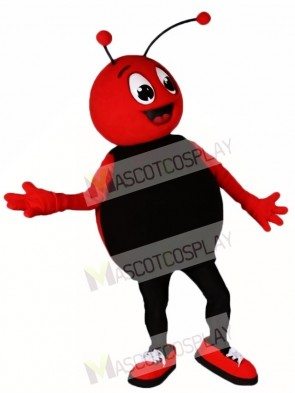 Custom Order Red Bug with Black Belly Mascot Costumes Insect
