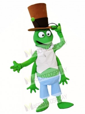 Green Grasshopper Mascot Costumes Insect