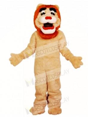 Fluffy Lion Mascot Costumes Animal