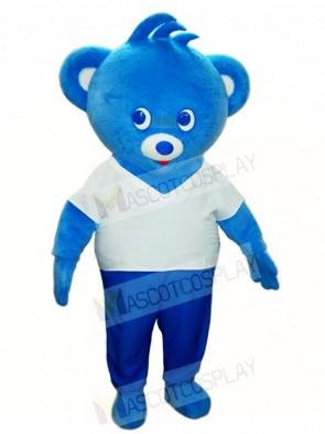 Blue Bear Mascot Costumes Animal