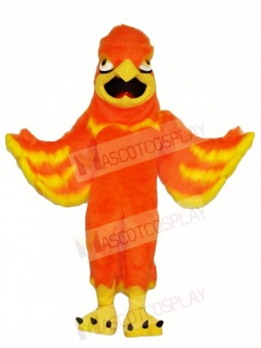 Orange Phoenix Mascot Costumes Fantasy