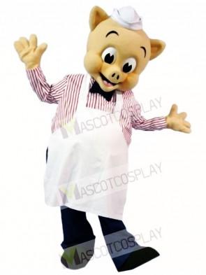 Chef Pig Piggly Mascot Costumes Animal