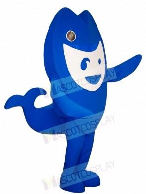 Blue Pipefish Mascot Costumes Sea Ocean