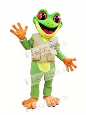 Tree Frog Mascot Costume Green Frog Mascot Costumes