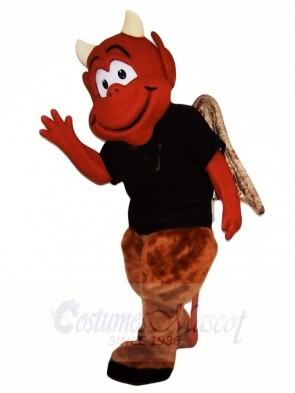 Brown Devil Mascot Costumes Monster