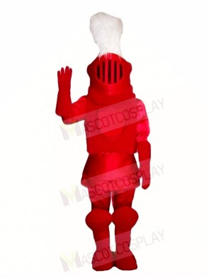Red Knight Mascot Costumes People