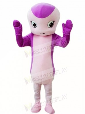 Purple Snake Mascot Costumes Animal