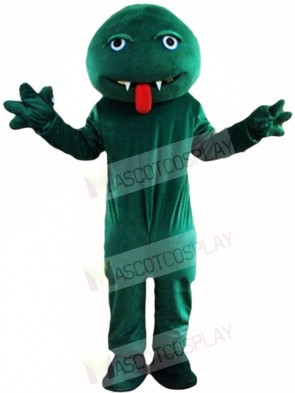 Green Snake Monster Mascot Costumes Animal