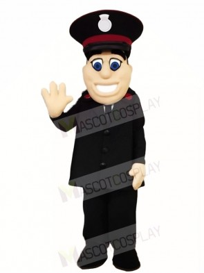 Army Caption Police Mascot Costumes People