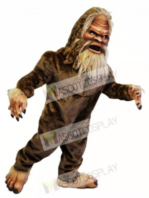 Brown Sasquatch Mascot Costumes