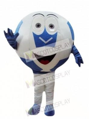 Brauch Farbe lila Ball Fußball Maskottchen Kostüme