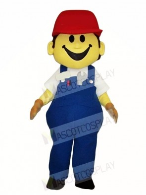 Building Worker Builder Mascot Costumes People