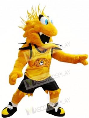 Yellow Storm Mascot Costumes