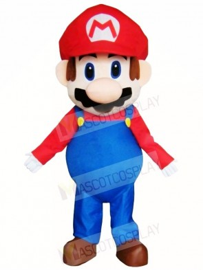 Super Mario Bros Mascot Costumes Cartoon Video Game