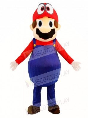 Super Mario Bros Odyssey Mascot Costumes Cartoon Video Game