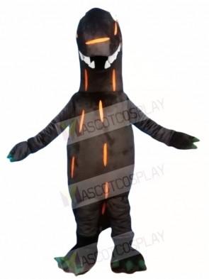 Brown T-Rex Dinosaur Mascot Costumes