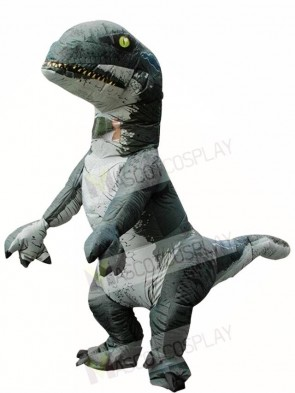 Tyrannosaurus T-REX Dinosaur Inflatable Halloween Christmas Costumes for Adults