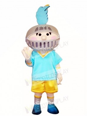 Blue Thorn Knight Mascot Costumes People
