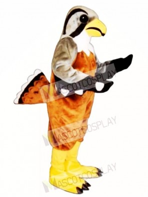 Cute Falcon Mascot Costume