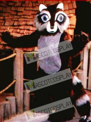 Cute Raccoon Mascot Costume
