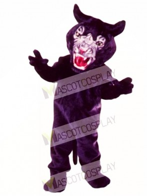 Cute Super Panther Mascot Costume