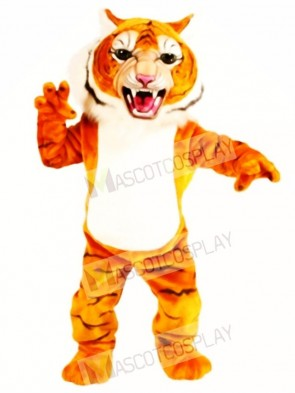 Cute Super Tiger Mascot Costume