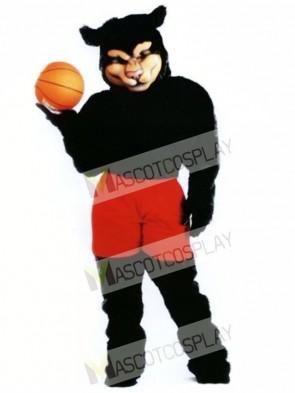 Cute Pro Panther Mascot Costume