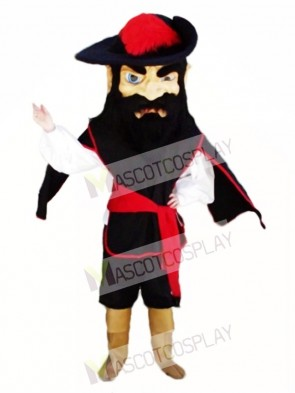Fighting Cavalier Mascot Costume