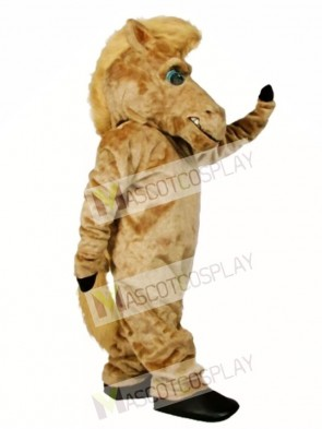 Cute Pepper Wild Stallion Horse Mascot Costume