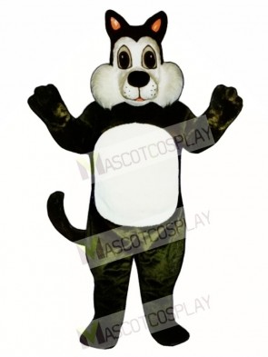 Cute Comic Cat Mascot Costume