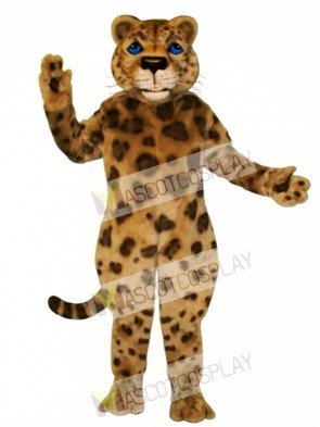 Cute Jaguar Mascot Costume