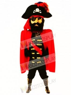 Giant Captain John Mascot Costume