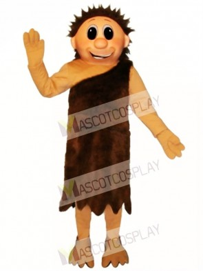 Ned Neanderthal Mascot Costume